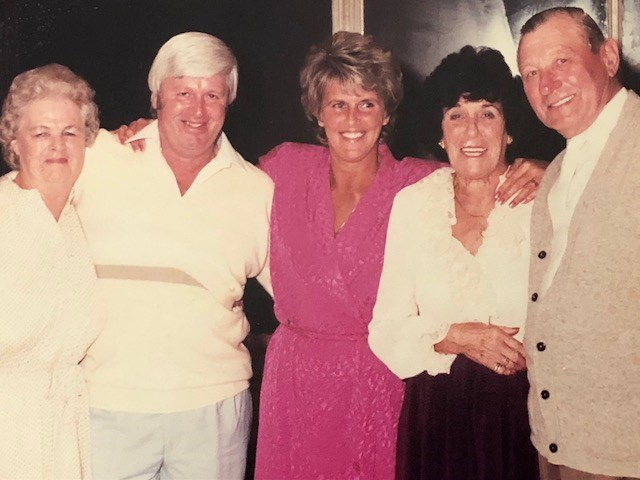 Pete & Jean, Gladys, Fred & Dorothy