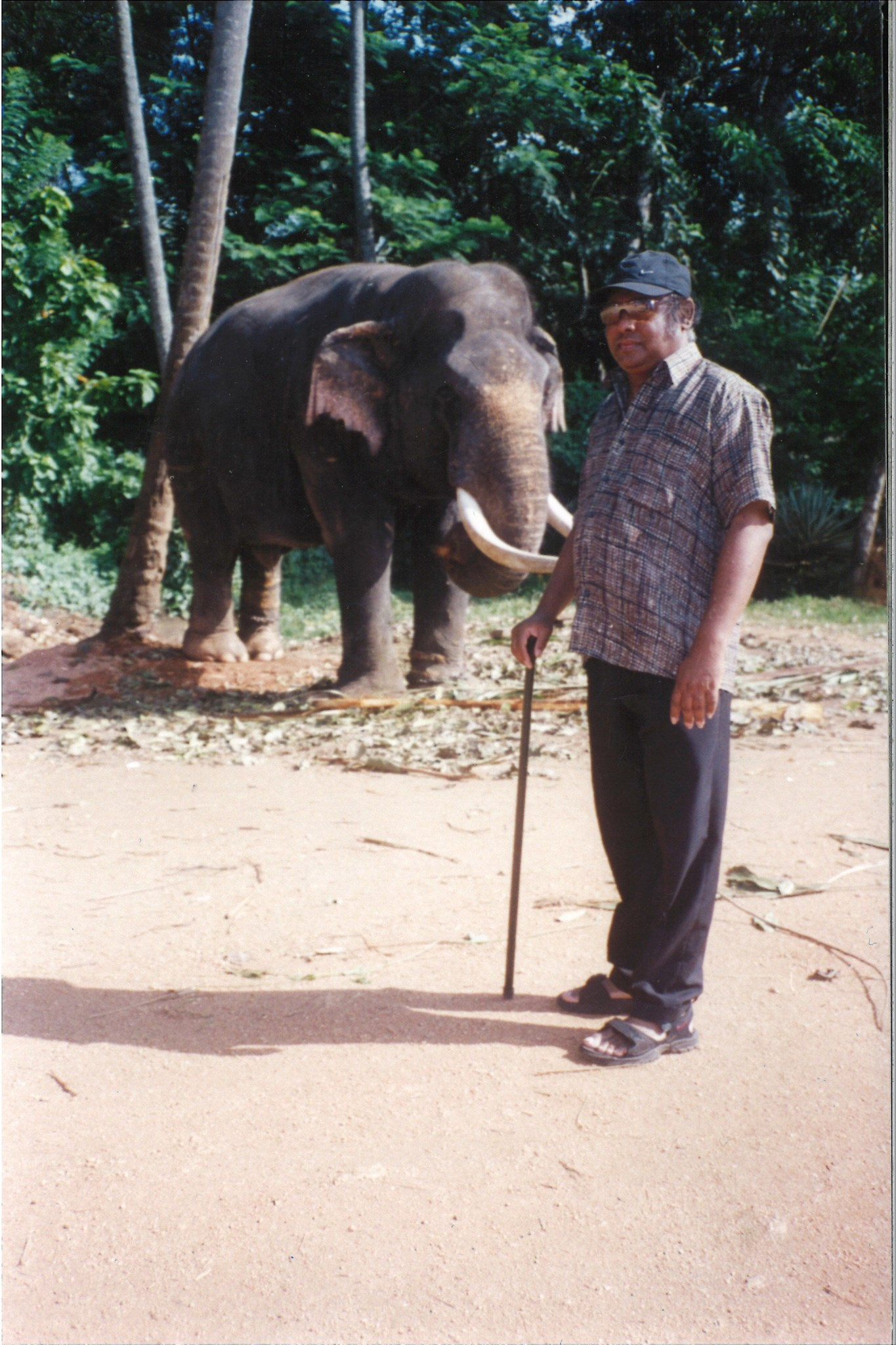 Dad loved to travel to Sri Lanka and he did so regularly