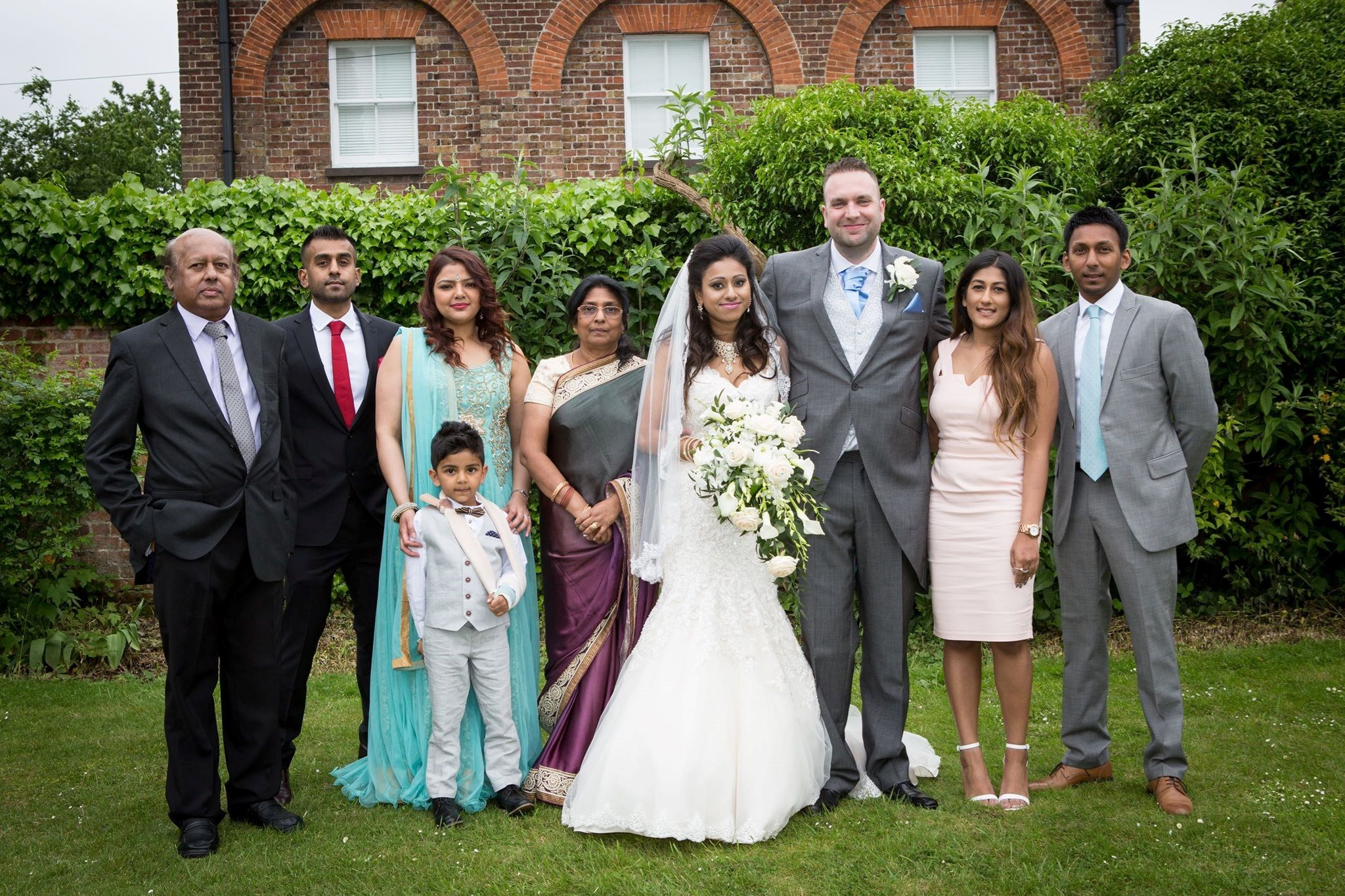His much loved neice's Pia's wedding