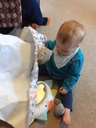 Learning to unwrap presents
