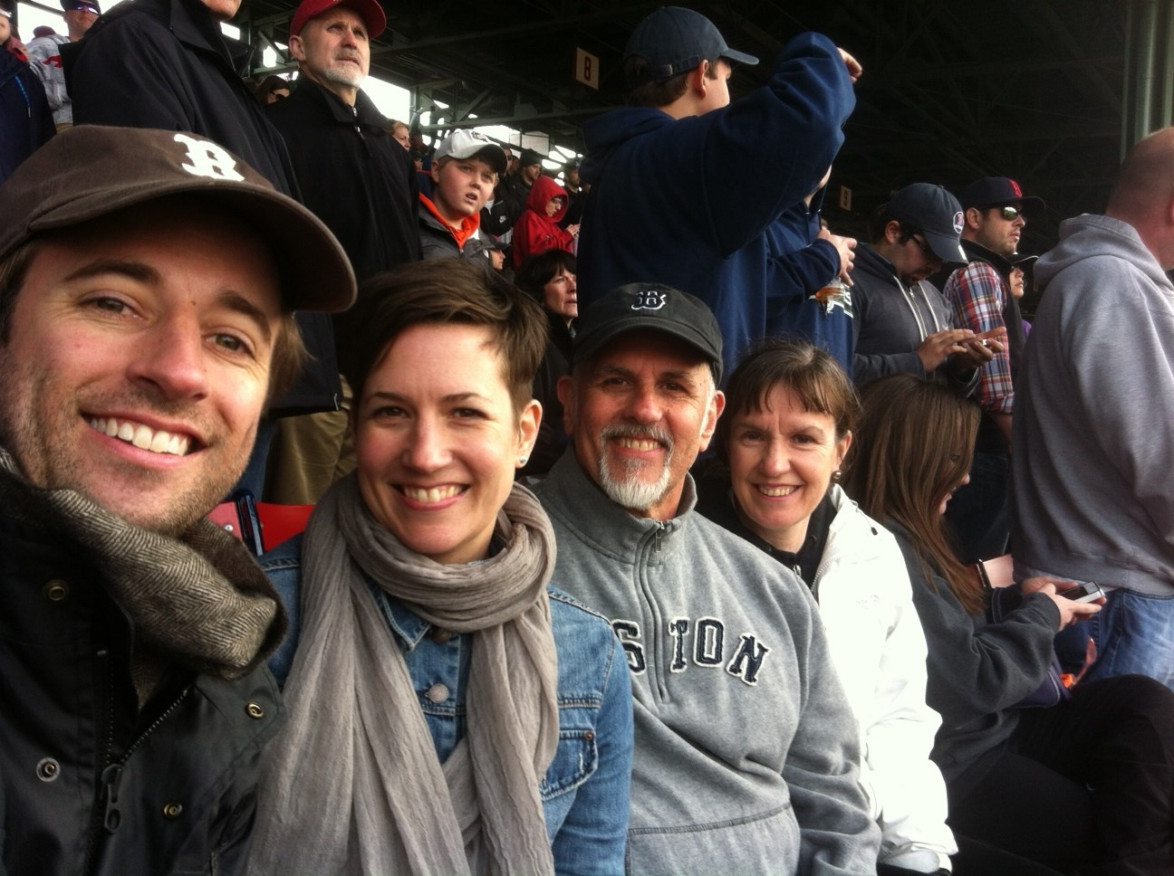 First Red Sox game after Marathon bombing