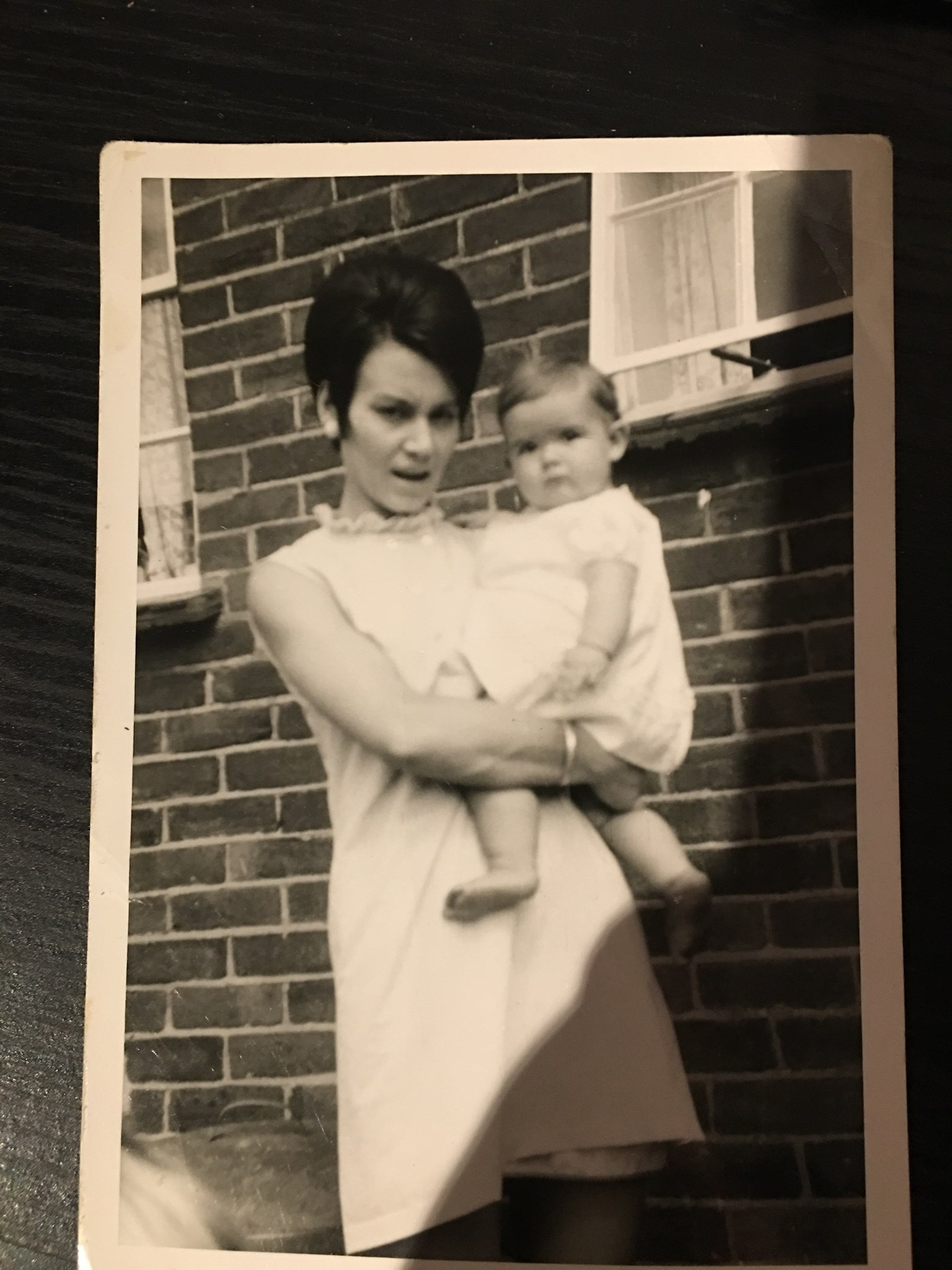 mum in her younger days with me