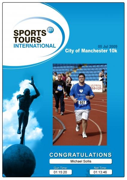 city of manchester 10k