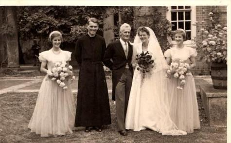 susan tyndale, peter graham hal and betty mcdiarmid & diana tyndale 1952