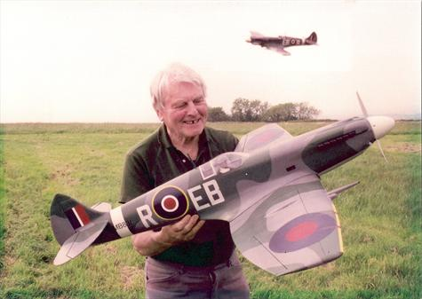 perfect scale model MkX11 in his markings
