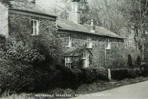 Matterdale Vicarage, parental semi-retirement home and fond memory holiday site