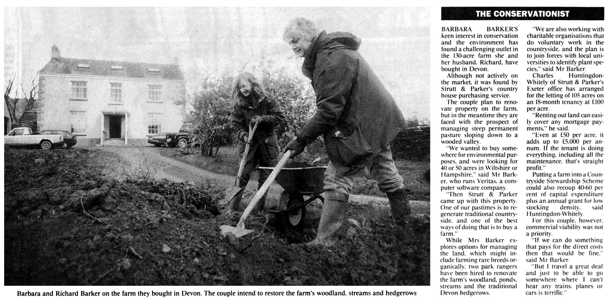 The Conservationists, Times Article 1999