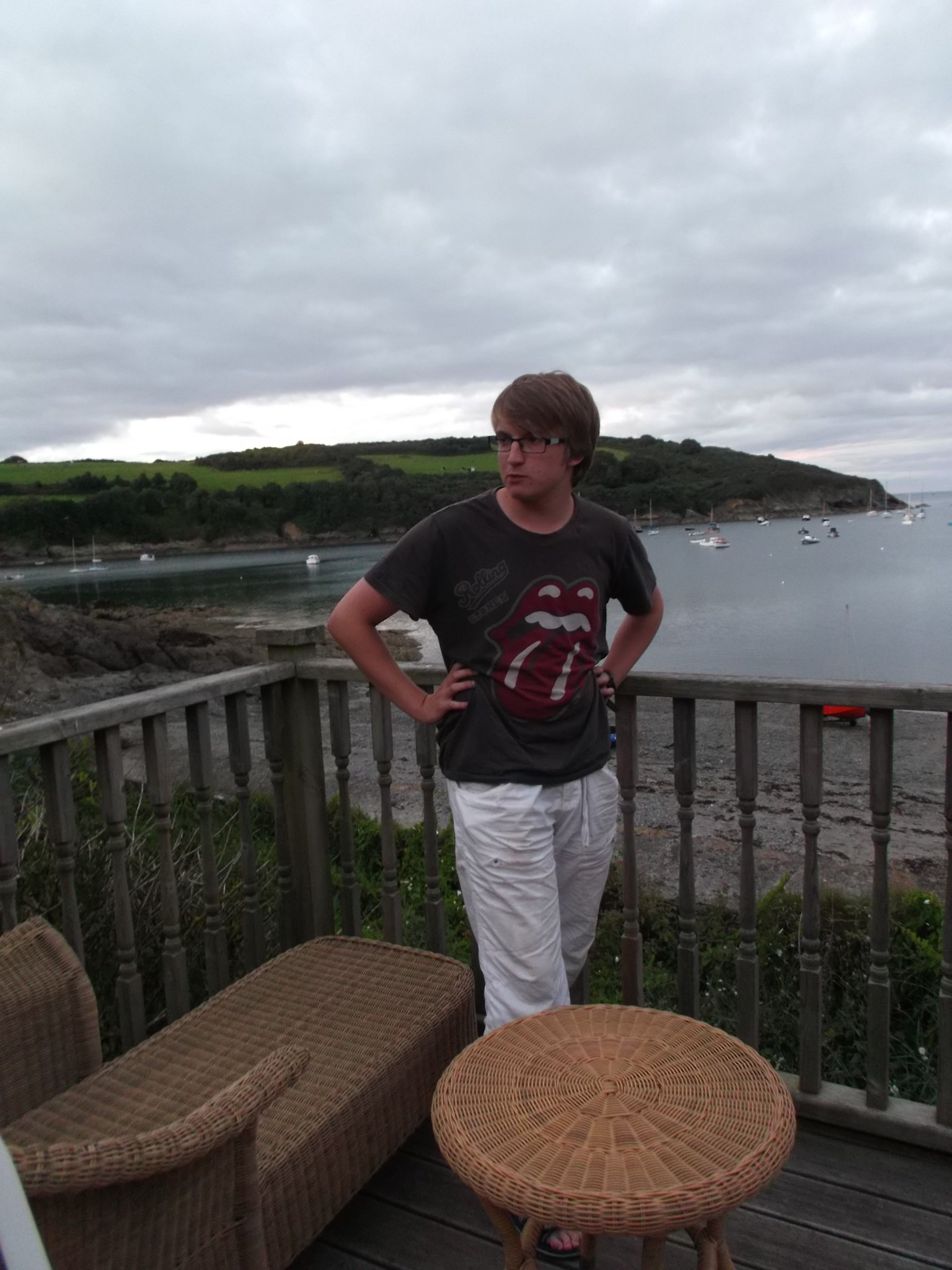 On holiday in Cornwall