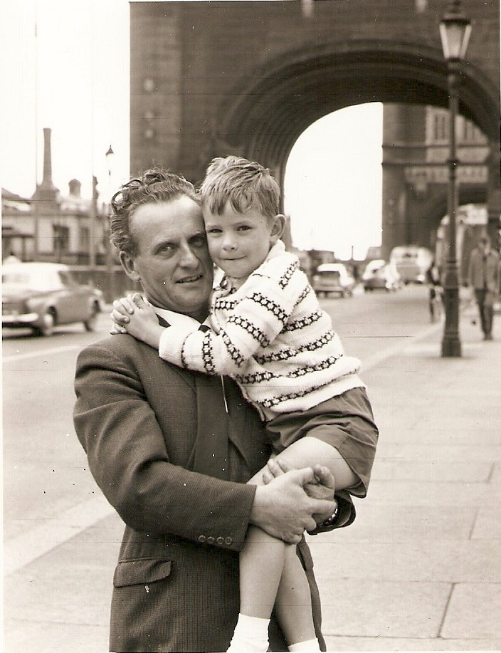 Dennis and John, Tower Bridge, London