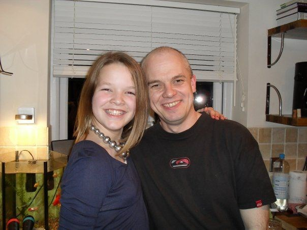 the person standing next to me , is my hero. I miss him soo much<3
