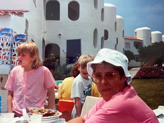 On holiday in Portugal