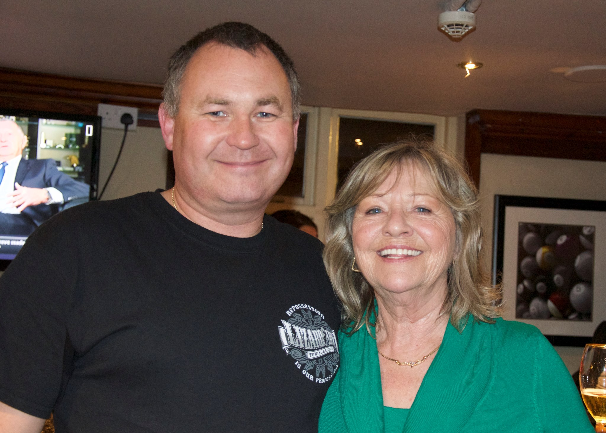 Paul and Auntie Eve. 6th Nov 2015.