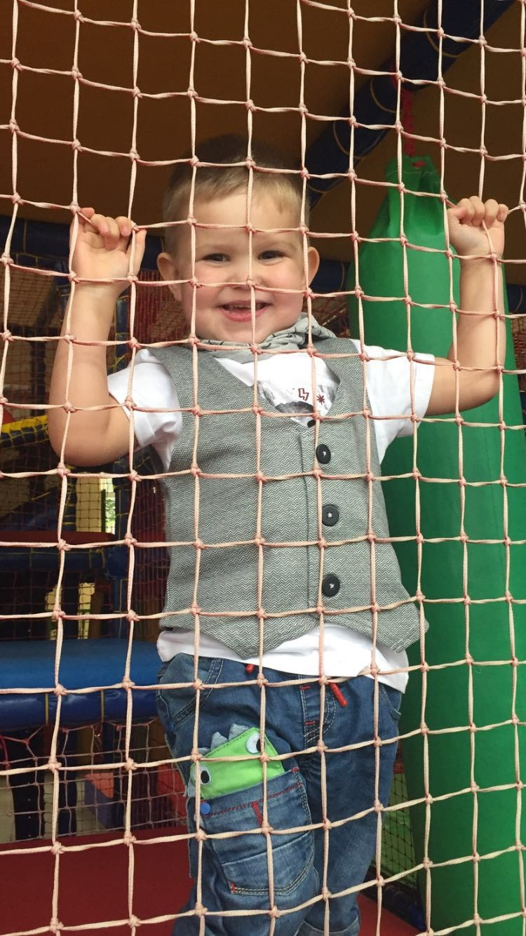 Henry at his 3rd Birthday Party