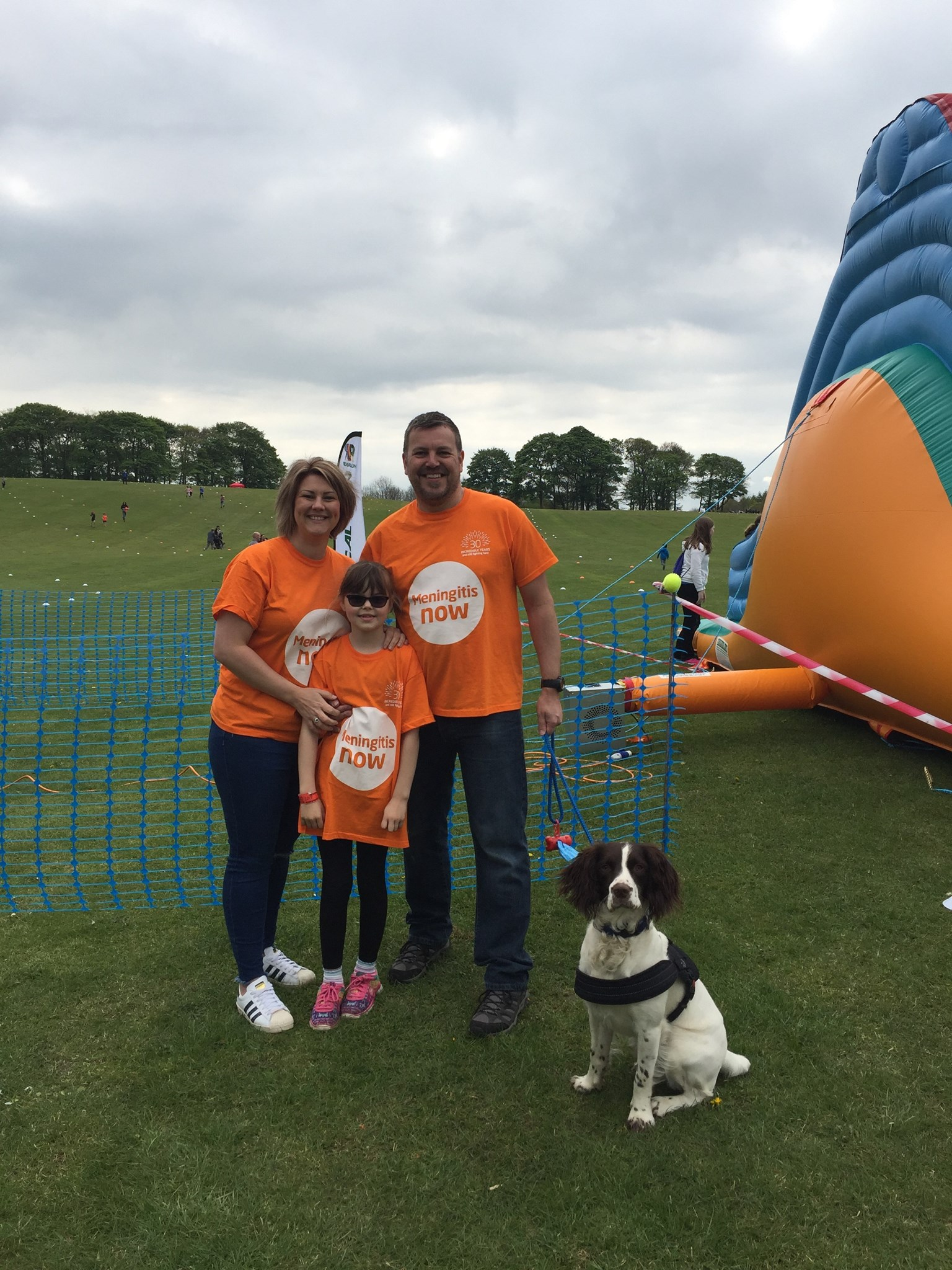 Mummy, Daddy , Tilly & Buster raising money in Henry's memory ????