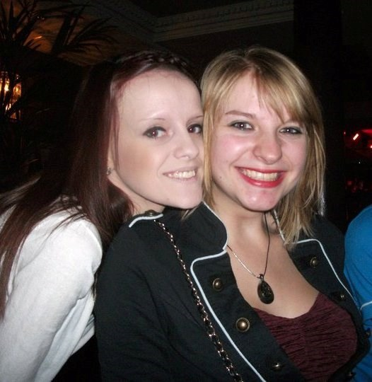 Jemma and I the night before I went off to uni. Such a beautiful smile :)