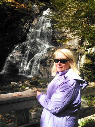 This photo of my love was taken last month while we were on a wonderful trip to New England.  Lori so much enjoyed traveling and experiancing natural locations.  Jack