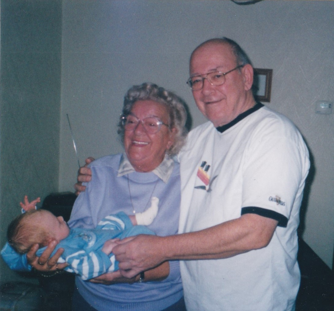 Dad and sister Eileen
