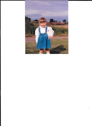 Lydia age 3 years.. What a cutie!!