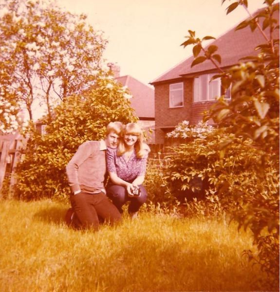 Paul & his sister Jayne during the 1970s'
