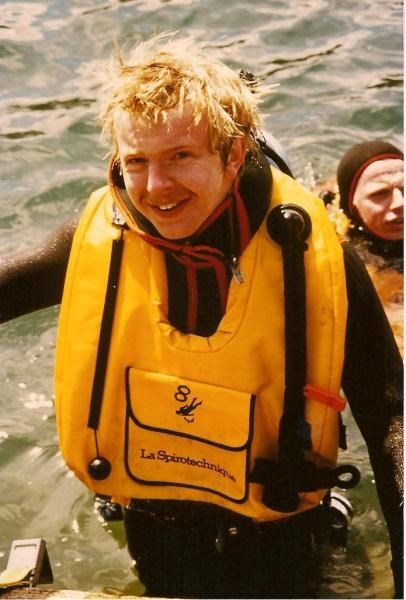 And another dive photo - Paul absolutely loved his diving!!