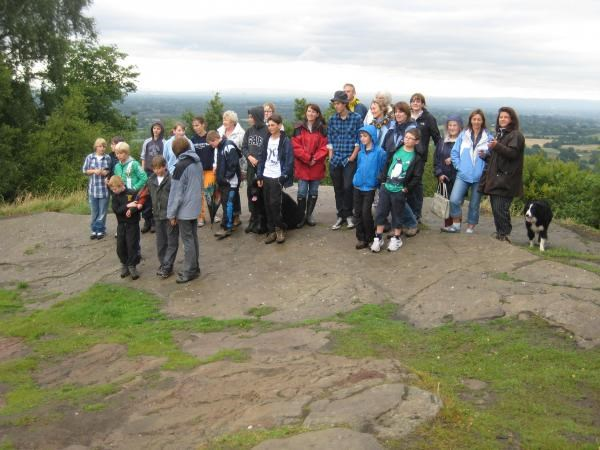 The Ryleys School Memorial Walk for Paul Wright - 16th July 2010
