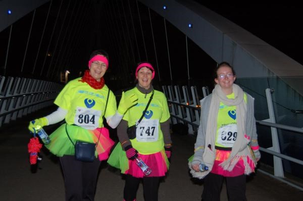 The Christies Night of Neon Walk 2010 - The Tutu Girls - with lots of love for Paul xxx