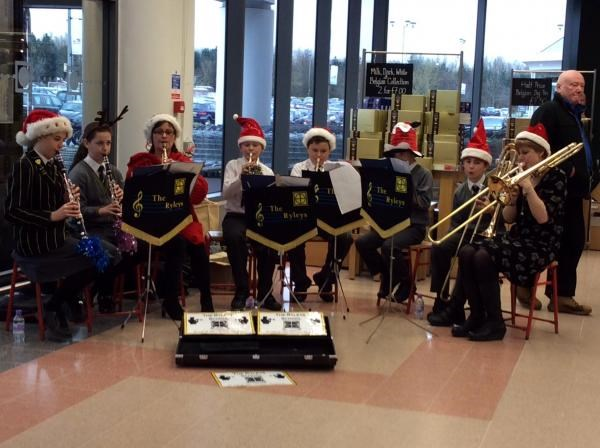 Christmas 2013 - Stella & her musicians busking for you outside M&S - with lots of love always xxxxx