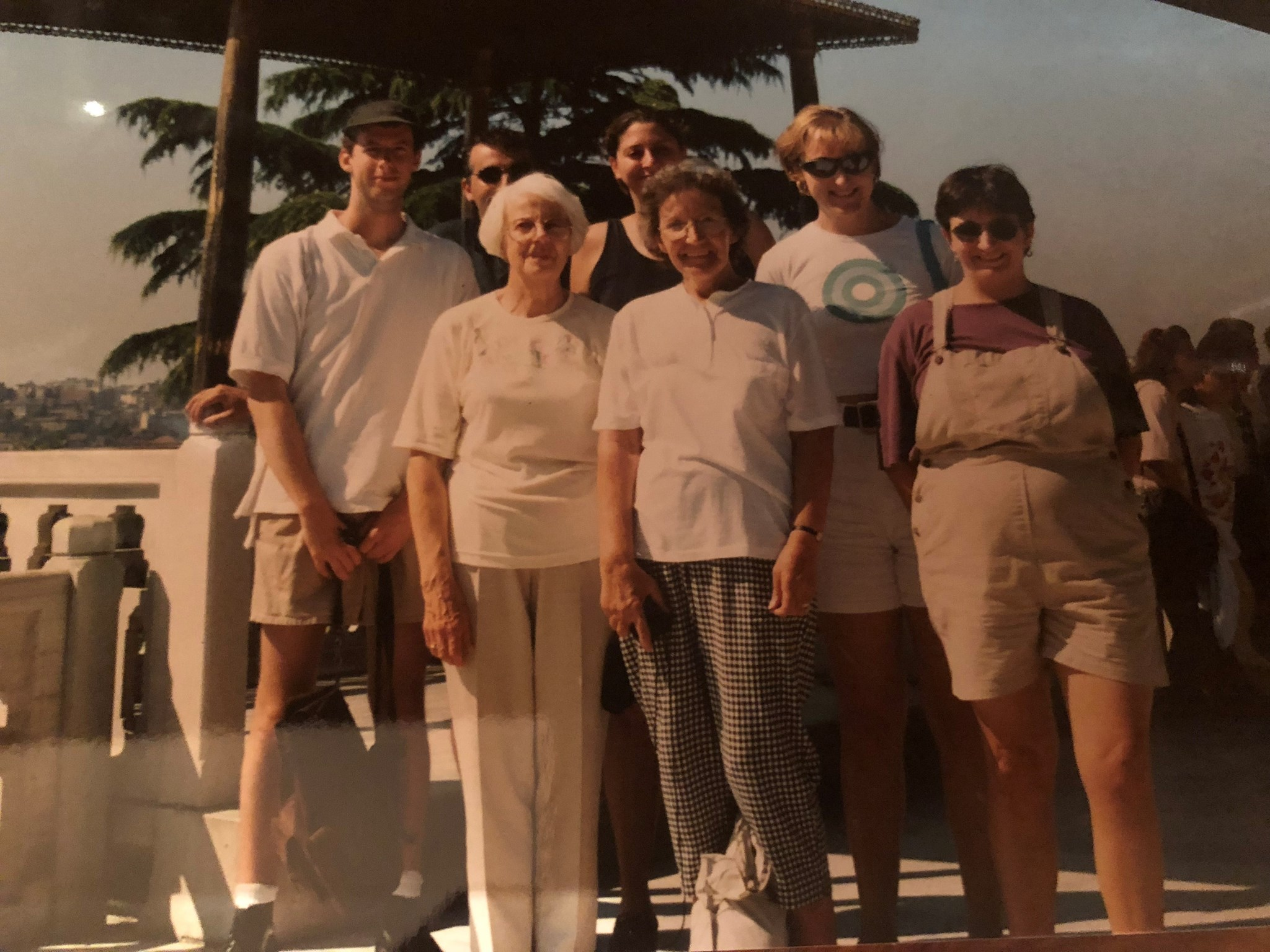 In 1998 - trip to Istanbul with Helen, Frances and my Mum