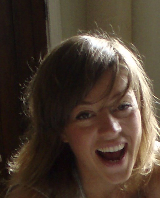 Lucy-Jane, having a laugh