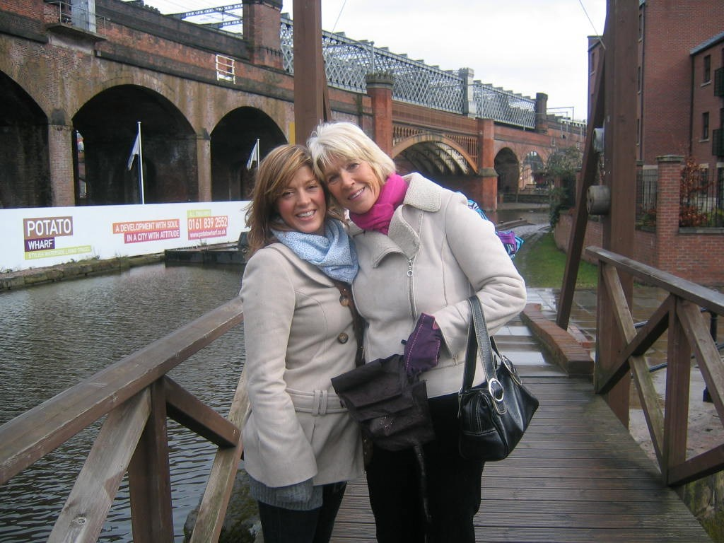 Lucy and Mum