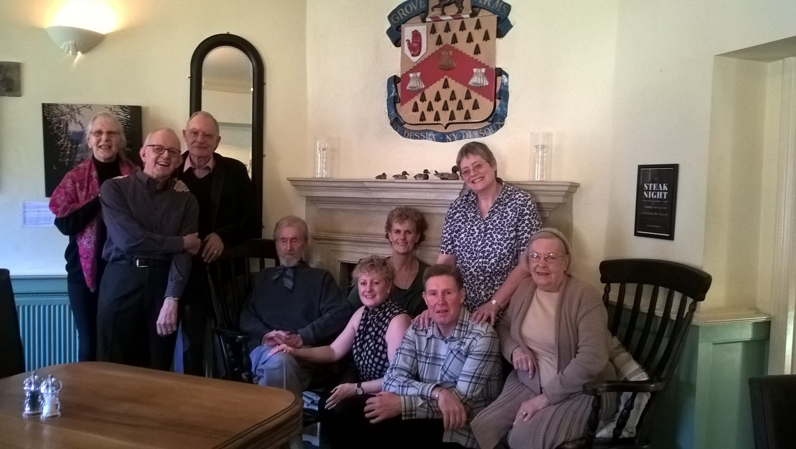 Happy memories with the Ball family, Jenny will be sadly missed. Lynne and Richard.