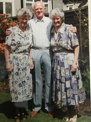 70th with Jack and Joyce at Beechfield Road