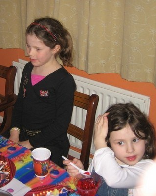 Tamsin's Life | Tamsin's birthday party 2008 with Ella
