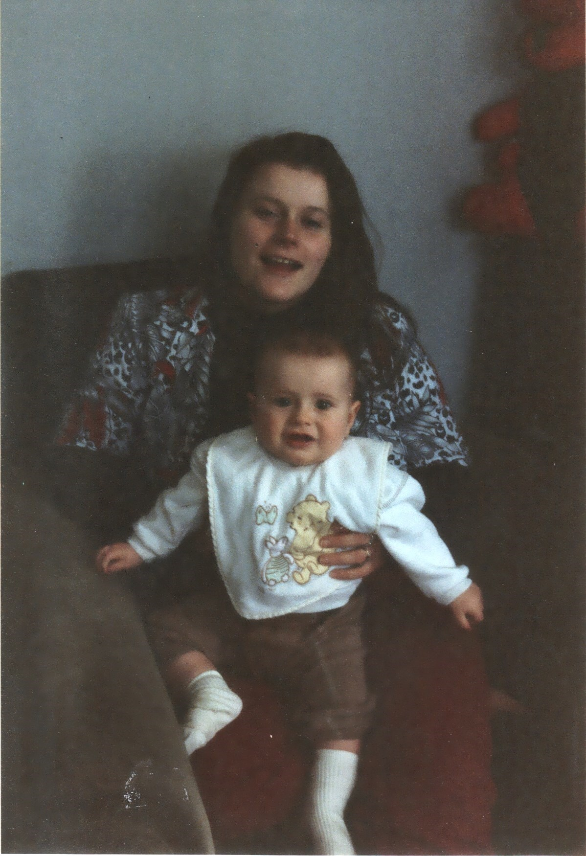 Sally and Joseph (7 months) - 22nd April 1998