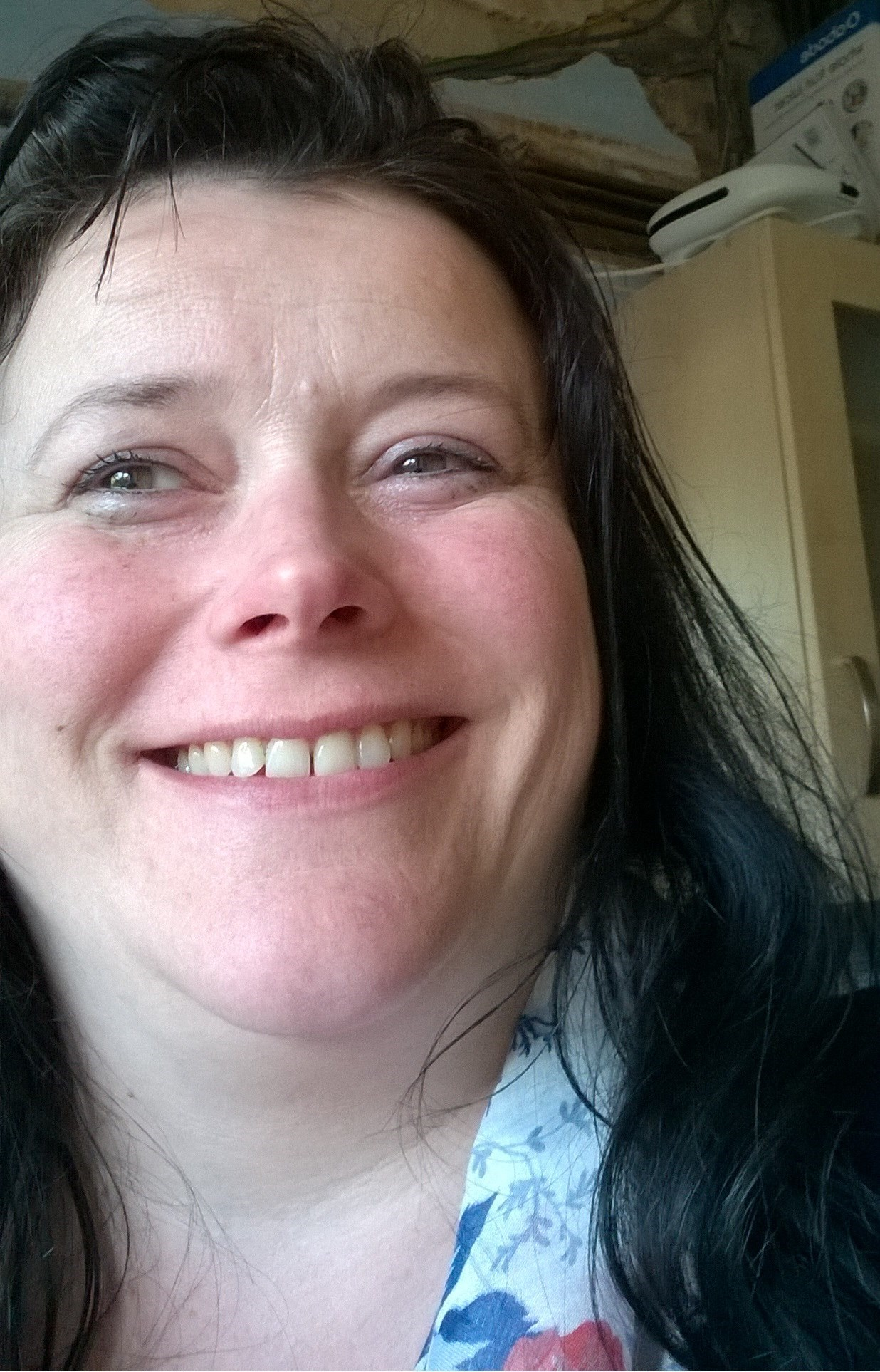 Sally's own selfie - 12th May 2015