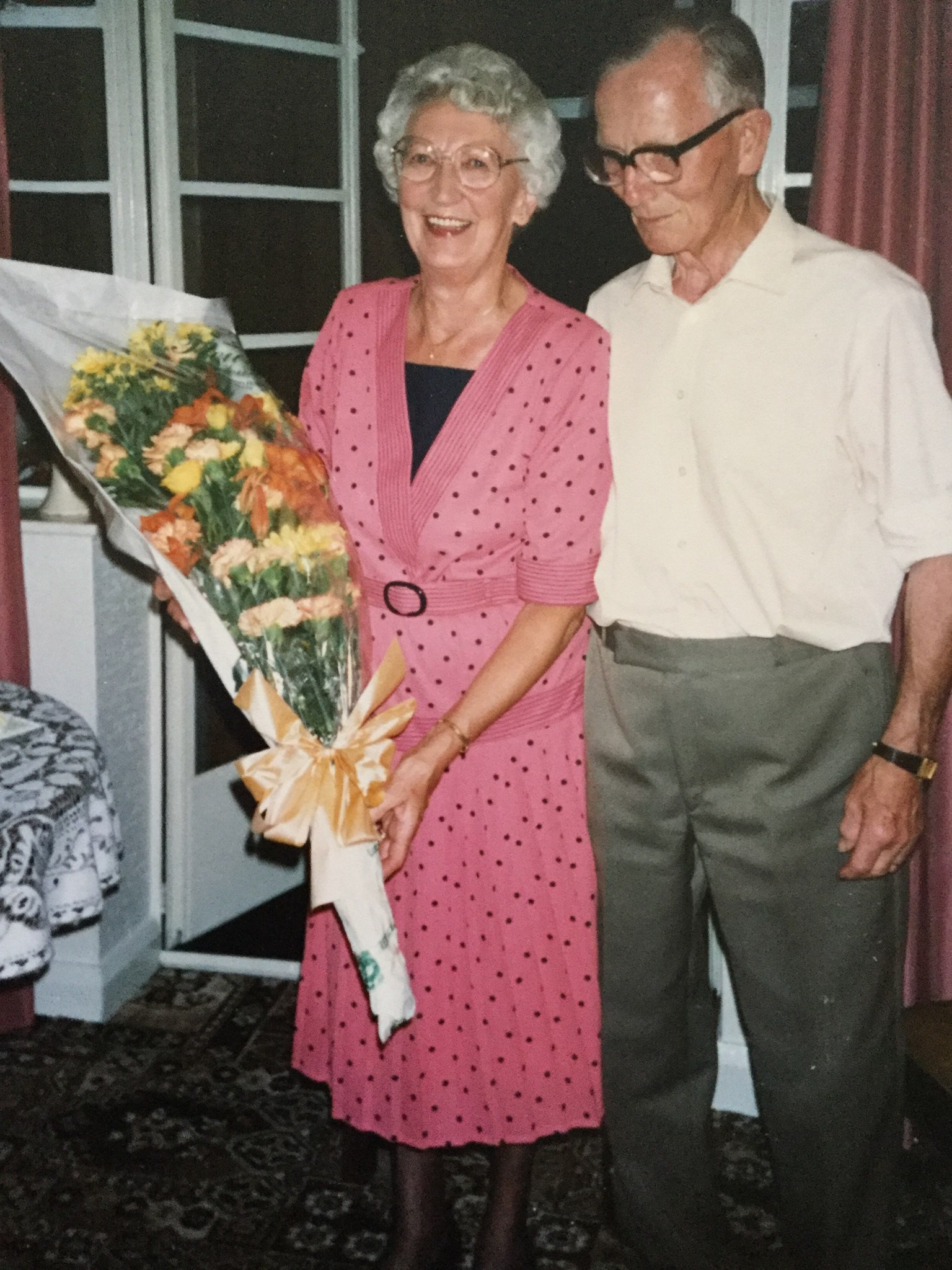 Such a warm smile - taken at Golden Wedding celebration 21.7.90