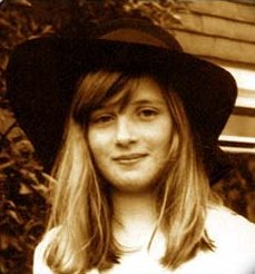 young diana in a hat