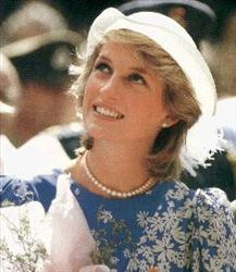 diana as a young lady