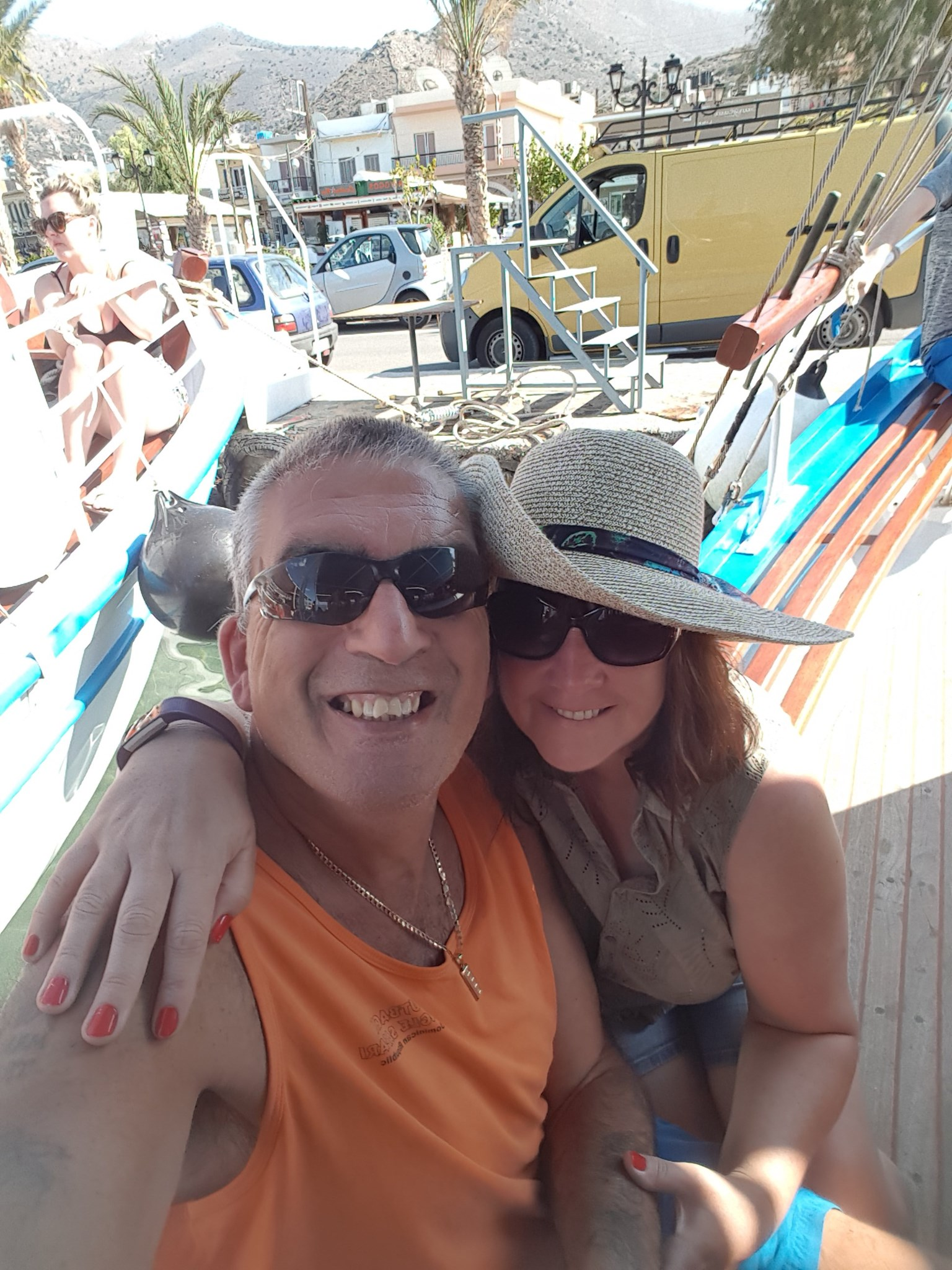 Our holiday in Crete, miss you darling xx