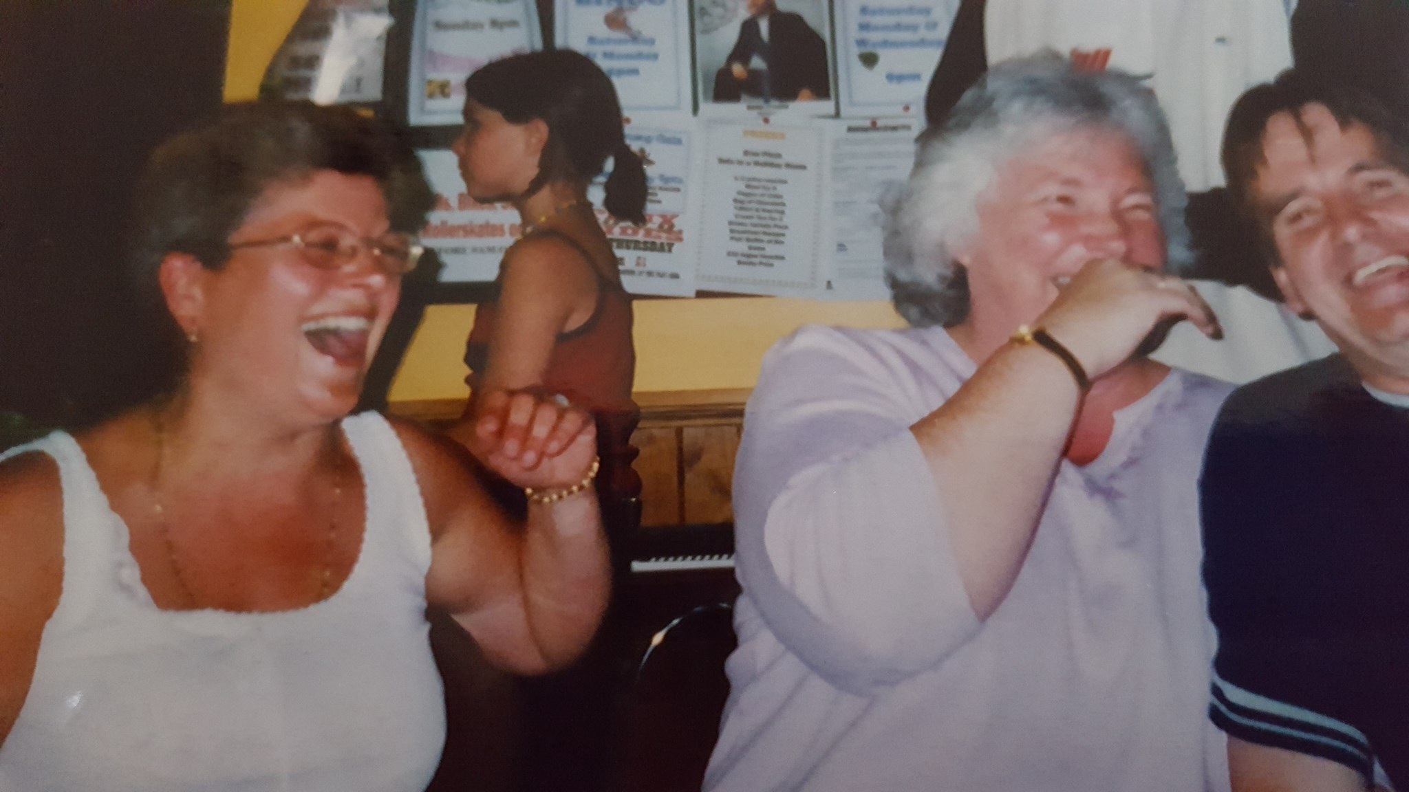 Happy times with Deb and Are. Buckle Grove 2002