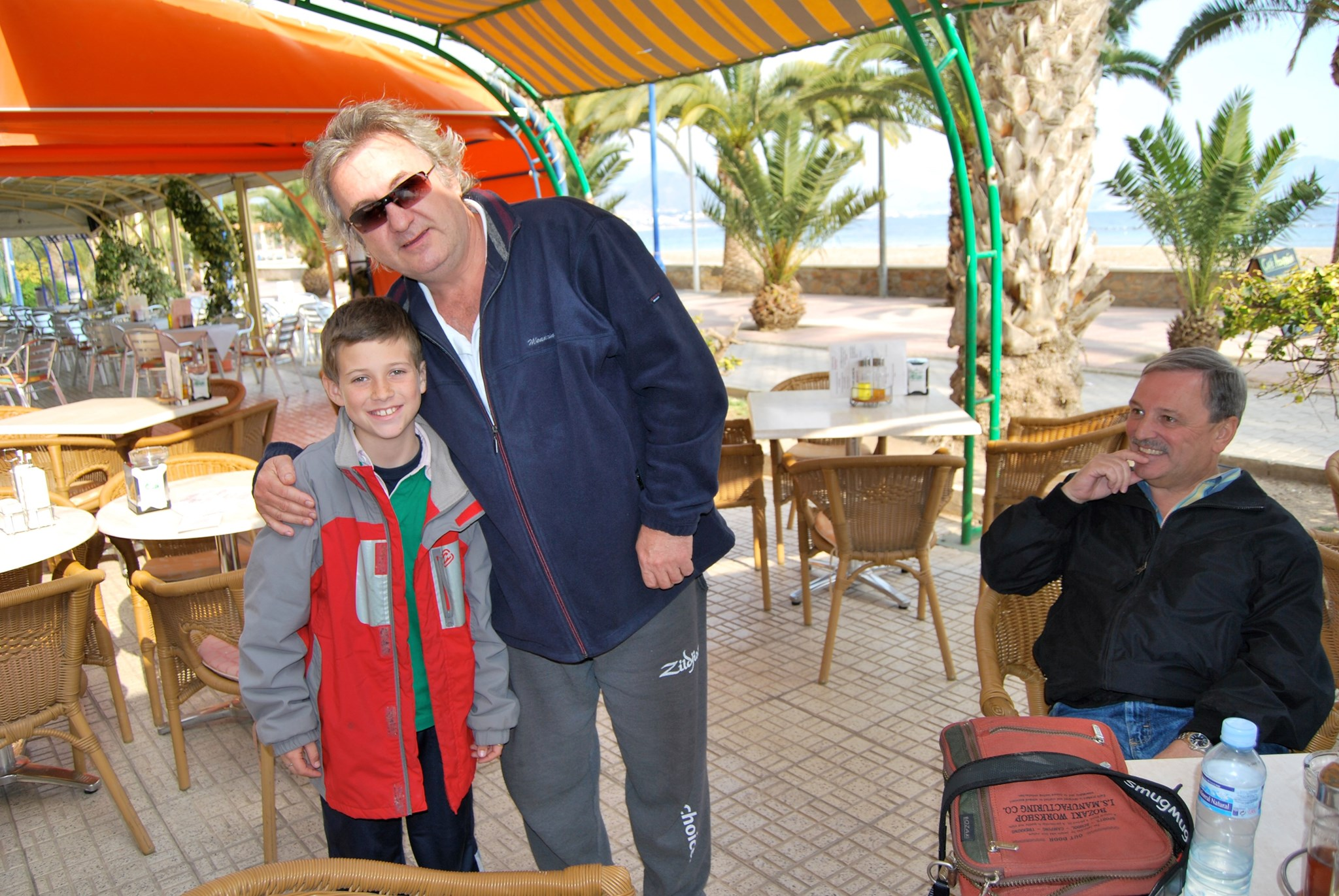 Brandon Nicol with Robbie, March 2nd 2009