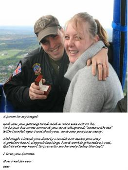 The Day I Took Gemma On To A Hot Air Balloon So That I Could Ask Her To Be My Wife