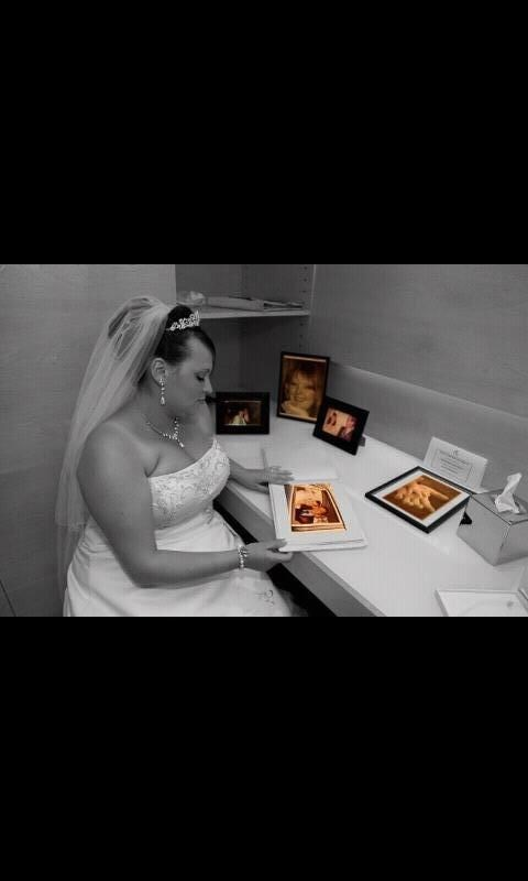 you were there babe to share our special day with us xx