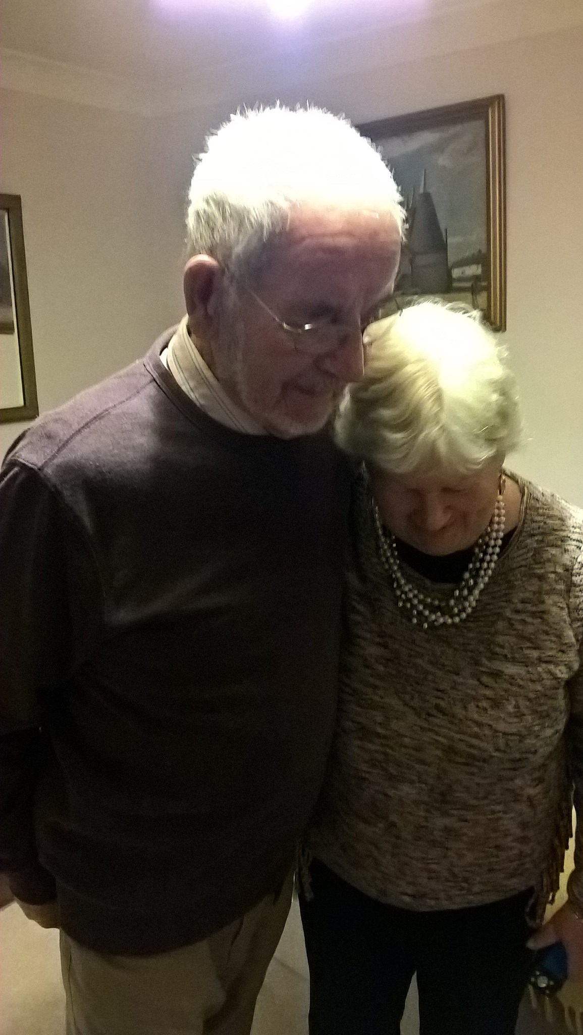 Such a loving picture of Mum and Dad. So happy together...