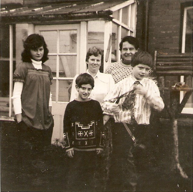 The Turner family move to Wales Christmas 74