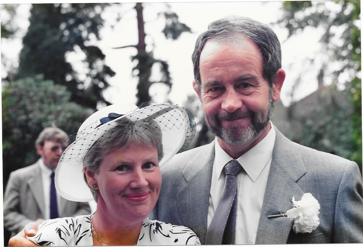 Paul and Debby 27th August 1988 - A lovely photo I took at Gordon and Gillian's wedding xx