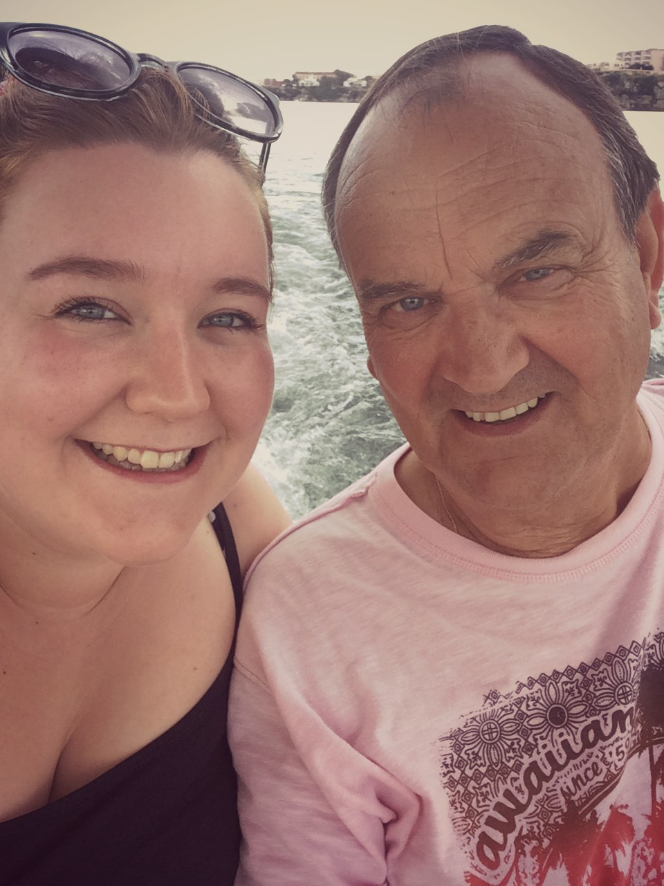 Roger and his daughter, Emily