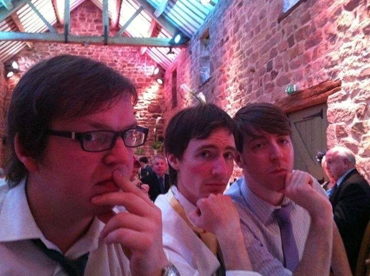 Leafy and friends at Kenny and Nicola's wedding