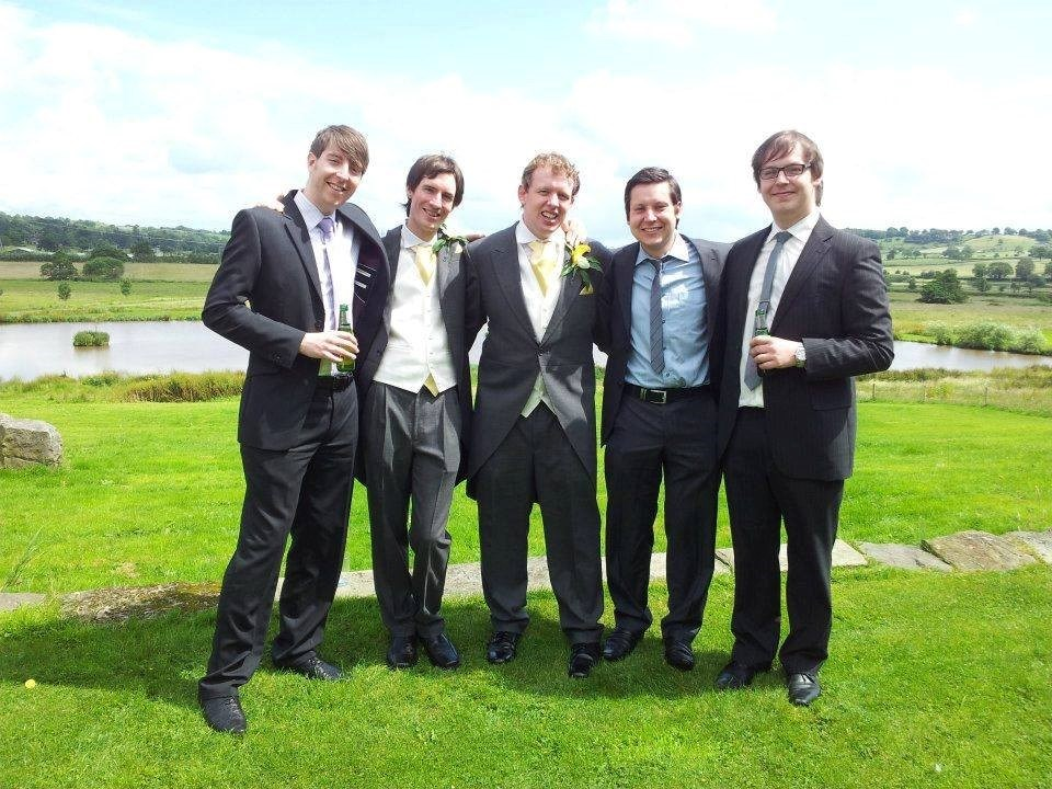 Leafy as Best Man at Kenny and Nicki's Wedding