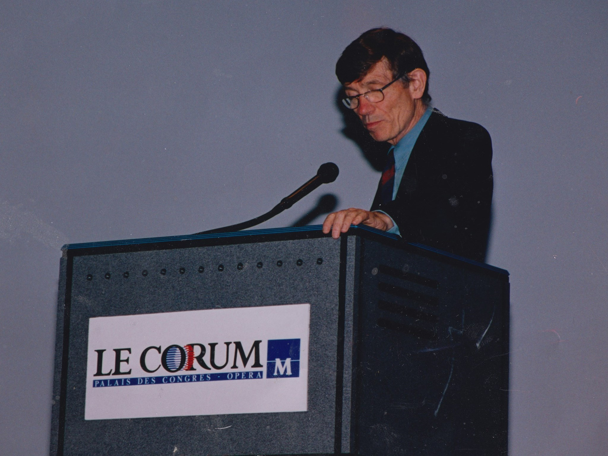 lecture in Montpellier late 80s or early 90s